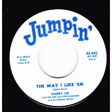 "JASPER WOODS ""HULLY GULLY PAPA"" / BARRY LEE ""THE WAY I LIKE 'EM"" 7"""