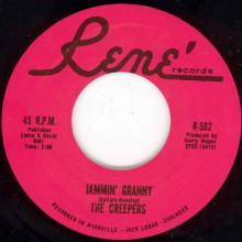 "CREEPERS ""Jammin' Granny/Fried Potatoes"" 7"""