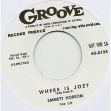 "EMMETT HOBSON ""MATTIE BEE / WHERE IS JOE?"" 7"""