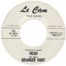 """GRAINGER HUNT """"NOAH / SAY BOSS MAN"""" 7"""""""