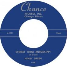 "HENRY GREEN ""STORM THRU MISSISSIPPI/ STRANGE THINGS"" 7"""