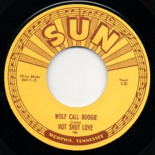 "HOT SHOT LOVE ""WOLF CALL BOOGIE / HARMONICA JAM"" 7"""