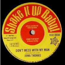 "IRMA THOMAS ""Don't Mess With My Man""/ DONNIE ELBERT ""Wild Child"" 7"""