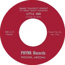 "JIMMIE ""PLAYBOY"" KNIGHT ""LITTLE ANN / AT NADENS EBONY DOOR"" 7"""
