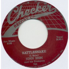 "JOHN BRIM & HIS STOMPERS ""RATTLESNAKE /IT WAS A DREAM"" 7"""