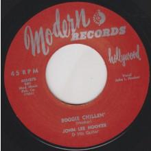 "JOHN LEE HOOKER ""BOOGIE CHILLEN' / SALLY MAY"" 7"""