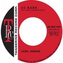 """LOUIS JORDAN """"65 BARS / COMIN' DOWN"""" 7"""""""