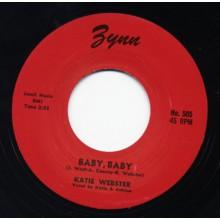 """KATIE WEBSTER """"BABY BABY / HOO WEE SWEET DADDY"""" 7"""""""