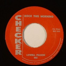 "Lowell Fulson ""Rock This Morning/Eddy Ware ‎""Lima Beans"" 7"""