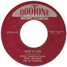 "MICKIE CHAMPION ""BAM-A-LAM / I'M A WOMAN"" 7"""