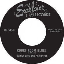 "FOUR BLUEBIRDS ""MY BABY DONE TOLD ME"" / JOHNNY OTIS ""COURT ROOM BLUES"" 7"""