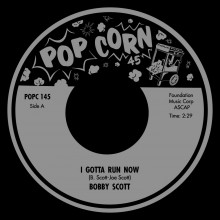 "BOBBY SCOTT ""Moanin / I Gotta Run Now"" 7"""