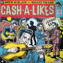 CASH-A-LIKES - 18 Men In Black Who Walked The Line - Gatefold LP