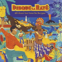 DISQUE LA RAYÉ - 60's French West-Indies Boo-Boo-Galoo LP