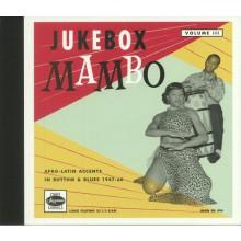 """JUKEBOX MAMBO VOLUME 3 - 6x 10"""" book"""