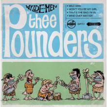 """POUNDERS """"Wylde Men EP"""" 7"""""""