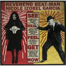 "REVEREND BEAT-MAN & IZOBEL GARCIA ""Baile Bruja Muerto"" LP + CD"