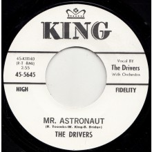"DRIVERS ""MR. ASTRONAUT / DRY BONES TWIST"" 7"""
