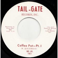 """BO JR. """"COFFEE POT PT. 1 / COFFEE POT PT. 2"""" 7"""""""