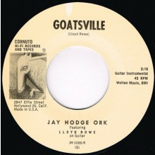 "JAY HODGE ORK ""GOATSVILLE"" / MECIE JENKINS ""COME BACK PRETTY BABY"" 7"""