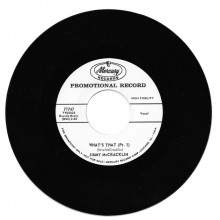 "JIMMY McCRACKLIN ""WHAT'S THAT Pt. 1 /WHAT'S THAT Pt. 2"" 7"""