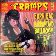 "CRAMPS ""Born Bad At The Barrowland Ballroom"" LP"
