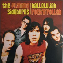 "FLAMING SIDEBURNS ""Allelujah Rock'n'Rollah"" LP"