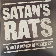 "SATAN'S RATS ‎""What A Bunch Of Rodents"" LP"