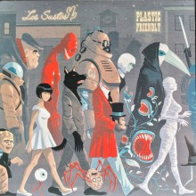 MONSTER PARADE Vol. 2: Los Sustos & Plastic Friendly 7""