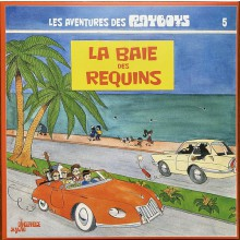 """PLAYBOYS """"La Baie Des Requins"""" LP"""