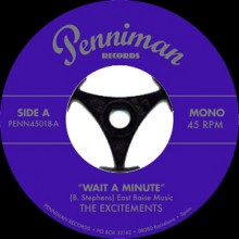 "EXCITEMENTS ""Wait A Minute / Right Now"" 7"""