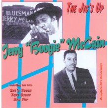 """JERRY McCAIN """"THE JIG'S UP"""" CD"""