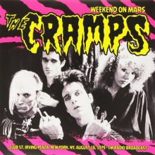 "CRAMPS ""Weekend On Mars"" LP"