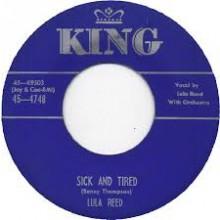 "LULA REED ""SICK & TIRED / ROCK LOVE"" 7"""