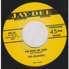 "OTIS BLACKWELL ""YOU MOVE ME BABY/ DADDY ROLLIN' STONE"" 7"""
