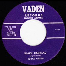 "JOYCE GREEN ""BLACK CADILLAC/TOMORROW"" 7"""