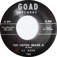"RAY JOHNSON ""SHAKE A LITTLE BIT"" / AL REED ""TOP NOTCH GRADE A"" 7"""