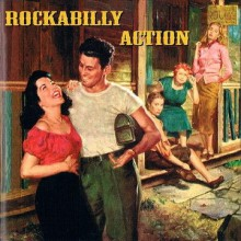 ROCKABILLY ACTION CD (Buffalo Bop)