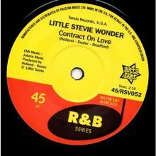"LITTLE STEVIE WONDER ""Contract On Love""/ BOB KAYLI ""Tie Me Tight"" 7"""