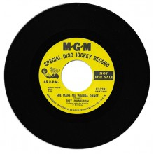 "ROY HAMILTON ""SHE MAKE ME WANNA DANCE / YOU CAN COUNT ON ME"" 7"""