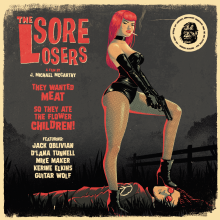 THE SORE LOSERS (Soundtrack) Double LP