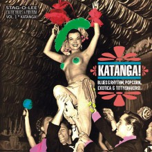 KATANGA - EXOTIC BLUES & RHYTHM Vol. 1 10""