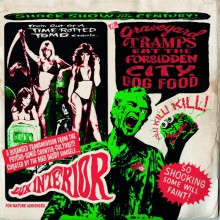 """THE GRAVEYARD TRAMPS EAT THE FORBIDDEN CITY DOG FOOD Double 10"""""""
