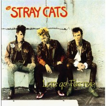 "STRAY CATS ""Lets Go Faster"" LP"