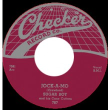 "JAMES SUGARBOY CRAWFORD ""JOCK-O-MO/ NO MORE HEARTACHES"" 7"""