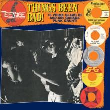 """TEENAGE SHUTDOWN """"THINGS BEEN BAD"""" LP"""