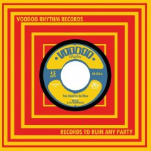 "TRIXIE AND THE TRAINWRECKS ""Too Good To Be Blue / Get Busy Living"" 7"""