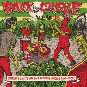 BACK FROM THE GRAVE VOLUME 10 GATEFOLD LP